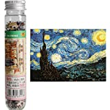 Amyove jigsaw puzzles 150Pcs Children Adult Creative Educational Mini Jigsaw Puzzle Set with Tube Bottle Blueprint
