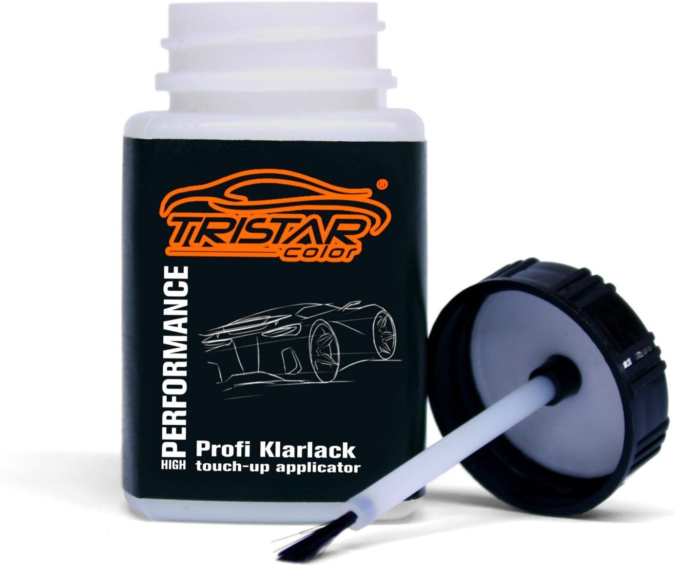Tristarcolor Autolack Lackstift Set Für Seat Ls9r Blanco Nevada Perl Basislack Klarlack Je 50ml Auto