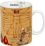 """Könitz K1153301709 Kaffeebecher Wissensbecher """"Medizin"""""""
