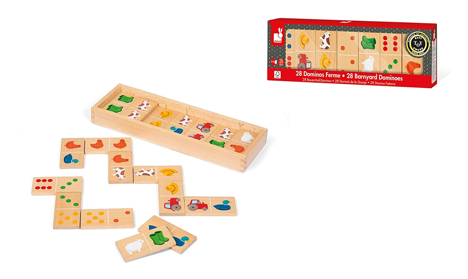 Amazon.com: Janod Dominos: Toys & Games