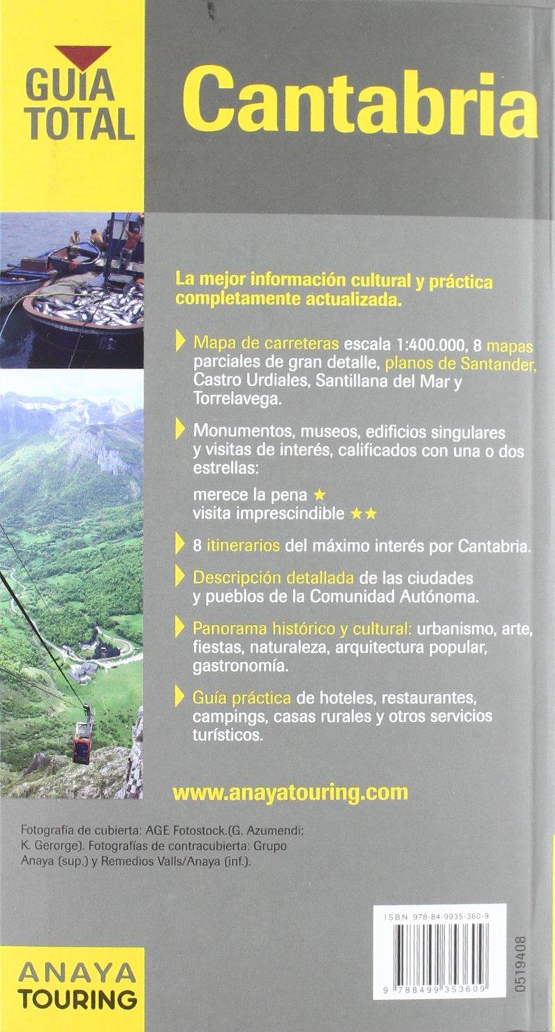 Amazon.com: Cantabria: Mapas De Carreteras 1:400.000 / Road ...