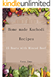 Home made Kachodi Recipes: 15 Boats with Minced Beef