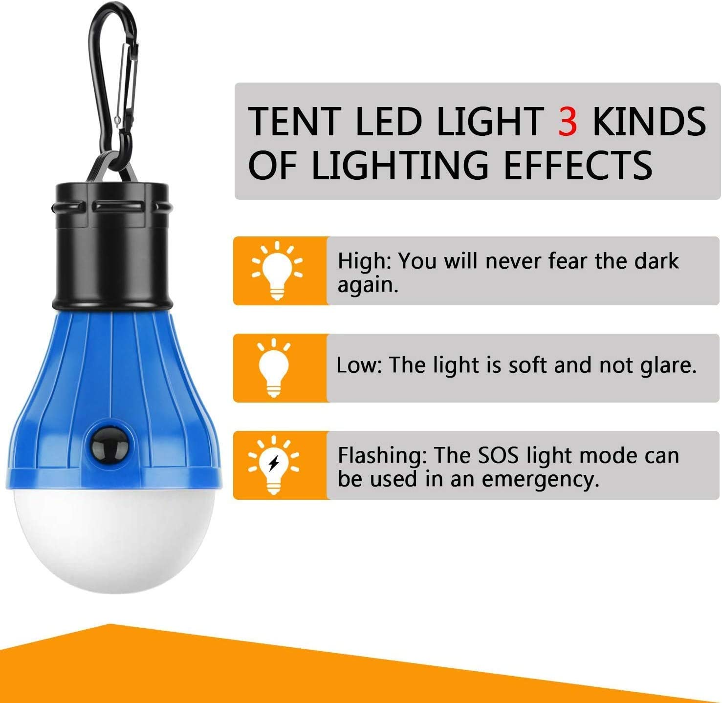 Cestval Small and Portable 27 LED Hanging Lantern Camping Tent 1Pcs Working Lamp,Emergency Light