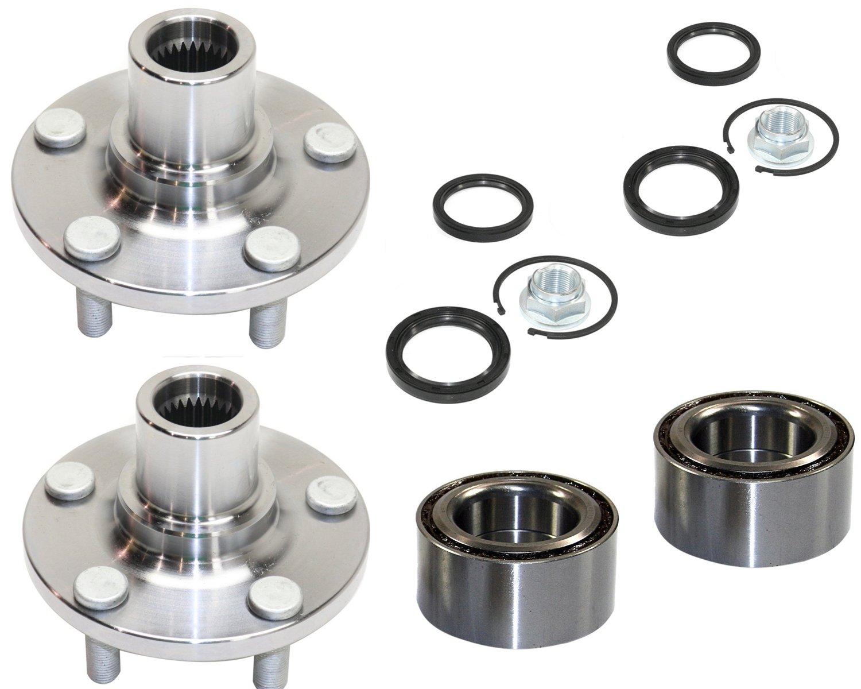Front Left /& Right Wheel Hub /& Bearing Set For Subaru Impreza //Legacy //Forester