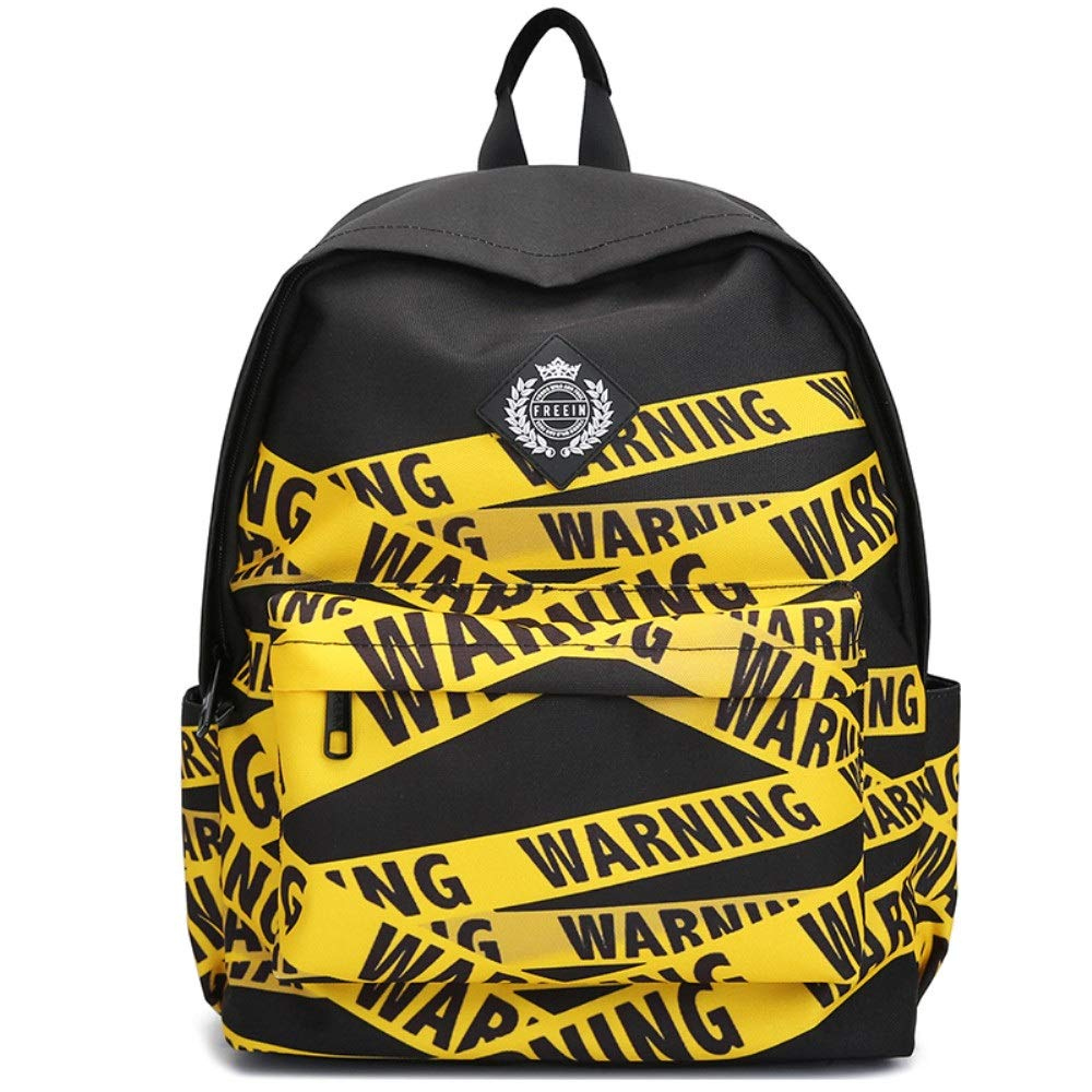 Color : A Printed Backpack Leisure Travel Men and Women Backpack 24L Backpack 43cm13cm