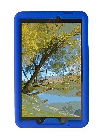 BobjGear Carcasa Resistente para Tablet Samsung Galaxy Tab E 9.6 (SM-T560, SM-T560NU), Tab E Nook 9.6 - Bobj Funda Protectora (Azul)