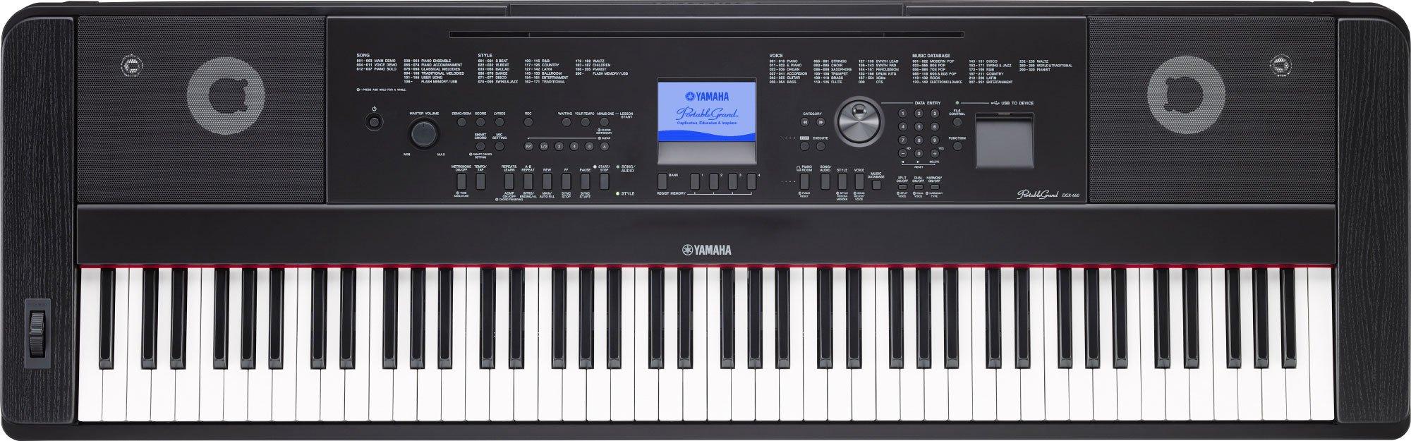 Casio PX 560 Vs Yamaha DGX 660