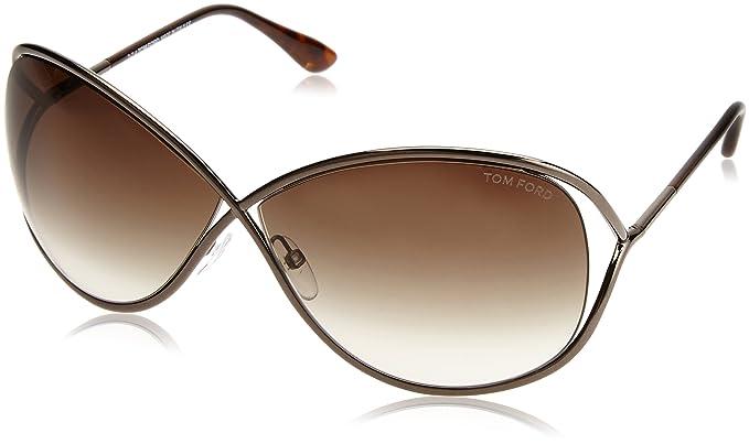 Tom Ford FT0130 36F 68 Gafas de Sol, Dorado (Bronzo Oscuro ...