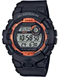 Men's Casio G-Shock Digital Power Trainer Connected Black Resin Watch GBD800SF-1