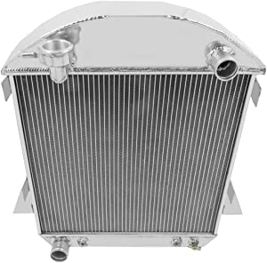 Champion Cooling, 3 Row All Aluminum Radiator for Model T W-Ford Config, CC1007