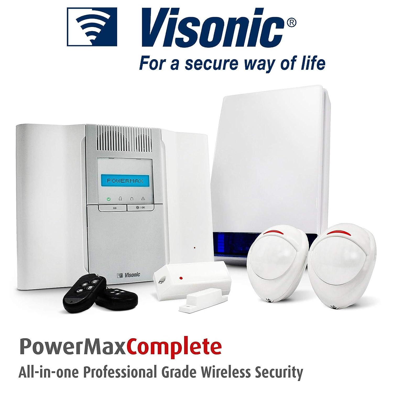 B13 - POWERMAX VISONIC sistema de alarma antirrobo sensor de movimiento inalámbrico/para alarmas/panel/sirena/puerta CONTACT: Amazon.es: Bricolaje y ...
