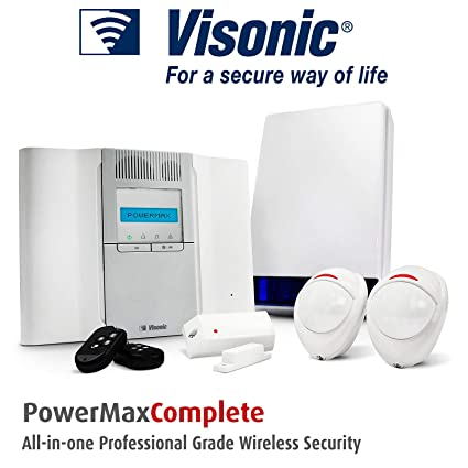 B13 - POWERMAX VISONIC sistema de alarma antirrobo sensor de movimiento inalámbrico/para alarmas/