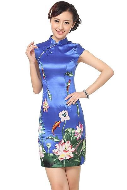 Reveryml Mujer Vestidos Qipao Ropa Tradicional China Cheongsam para la Venta Vestidos de Estilo Chino Vestido