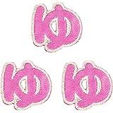 ミノダ ひらがな ゆ ピンク (3枚セット) AM0149