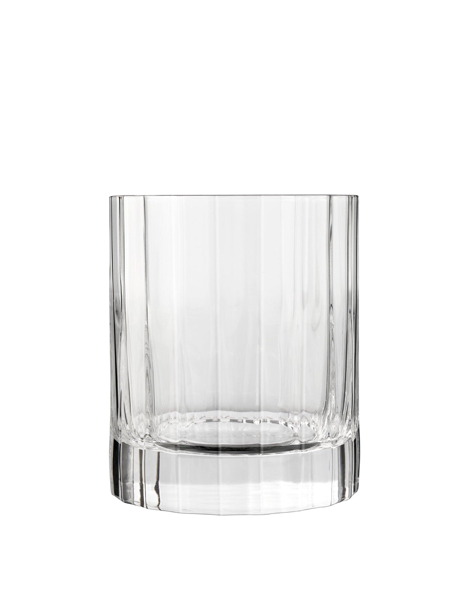 Luigi Bormioli 10823/01 Bach 11.25 oz Double Old Fashioned Glasses Set of 6 Clear