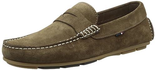 Tommy Hilfiger Alfa 5B, Mocasines para Hombre, Marrón (230), 46 EU: Amazon.es: Zapatos y complementos