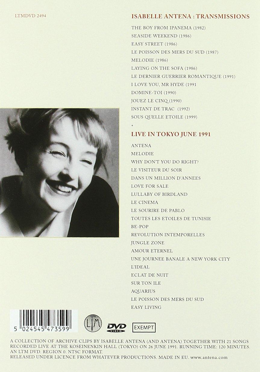 Isabelle Antena - Transmissions [Reino Unido] [DVD]: Amazon ...