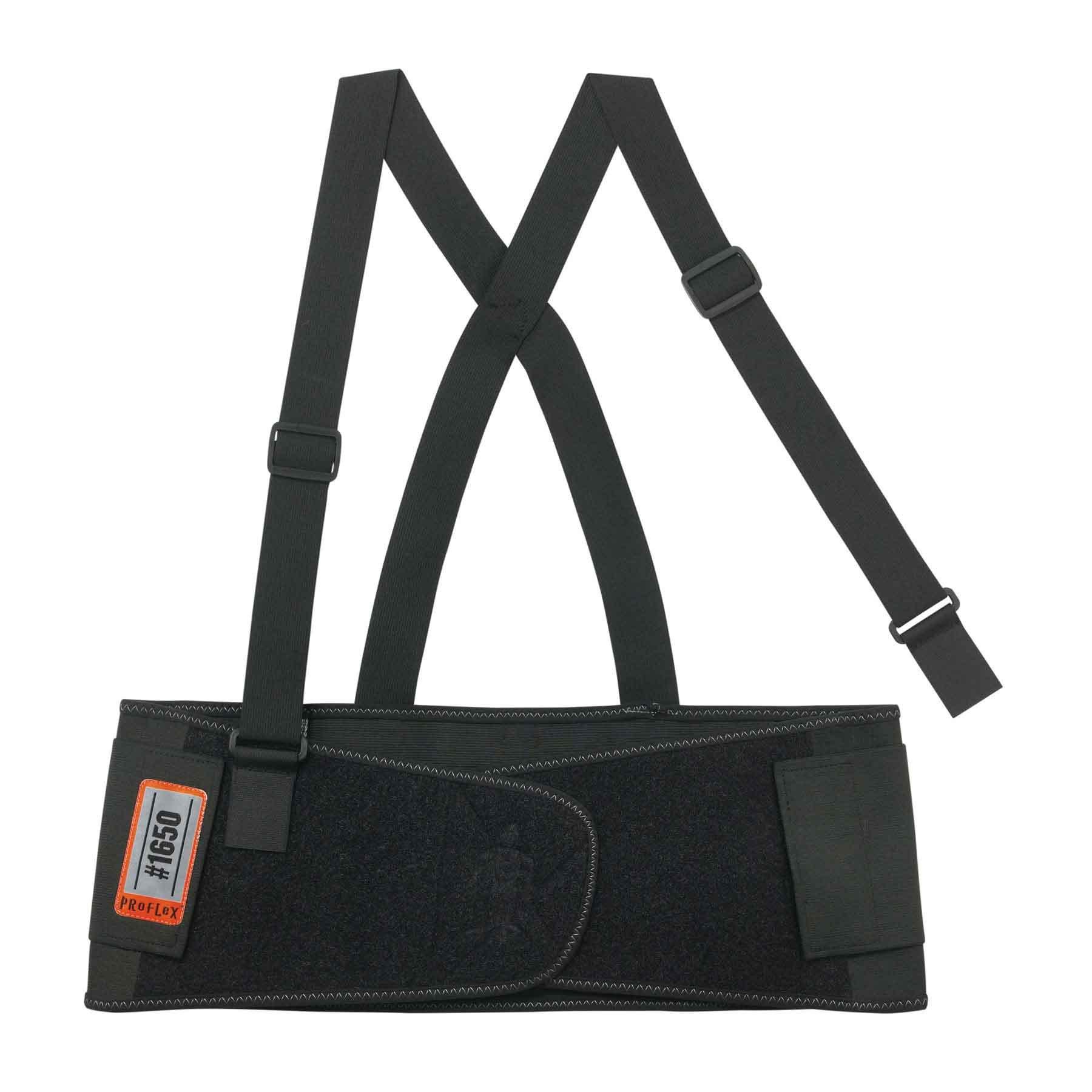 Ergodyne - 1650 S Black Economy Elastic Back Support