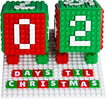Strictly Briks Set Calendario de Adviento: Cuenta atrás para Navidad - Juguete y decoración Festiva - Bloques de construcción compatibles con Todas Las Grandes Marcas - 203 Piezas: Amazon.es: Juguetes y juegos