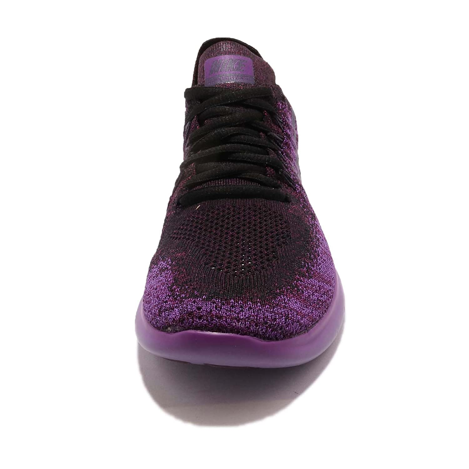NIKE Women's Free RN Flyknit 2017 Running Shoe B076V27PNN 6 B(M) US|Black/Dark Raisin-deadly Pink