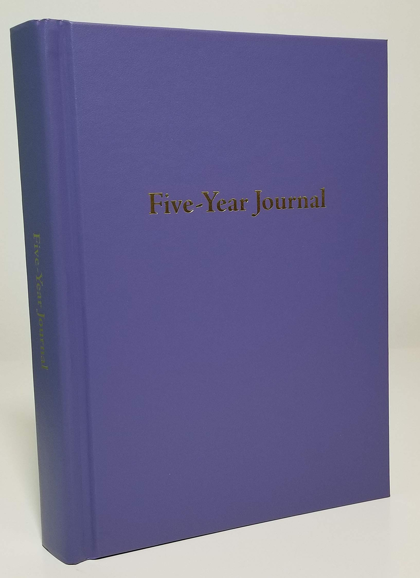 Hard Cover 5 Year Journal | The Easiest to Use Five Year Journal | Quick and Easy Five Year Daily Journal System | 6x8.25 Inch Size (Periwinkle Blue)