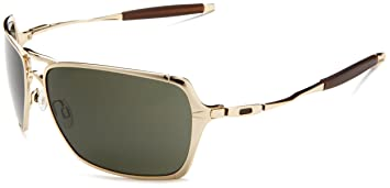 oakley inmate sunglasses for sale  oakley inmate oo4029 polished gold frame/dark grey lens metal sunglasses