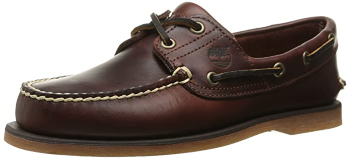 Amazon.com | Timberland Men's Classic Two-Eye Boat Shoe | Loafers ...