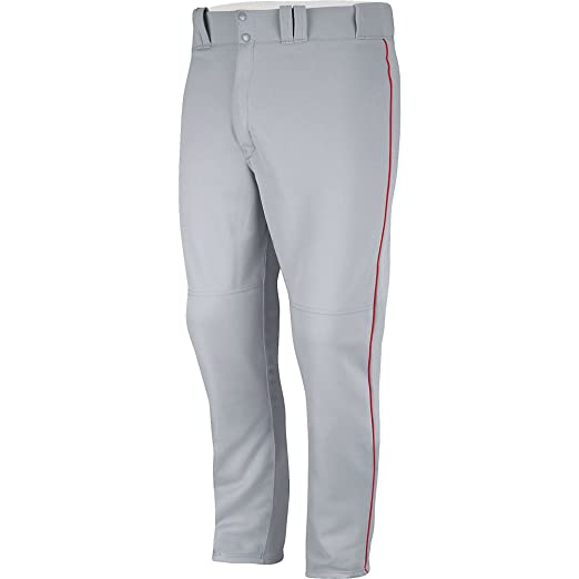 058066fbe Amazon.com   Majestic Boy s Zipper Front Baseball Pant with Piping   Baseball  And Softball Pants   Clothing