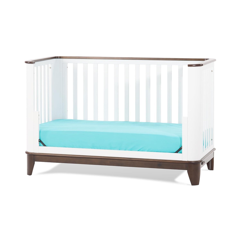 Child Craft Studio 4-in-1 Convertible Crib, Matte White Foundations F34101.84