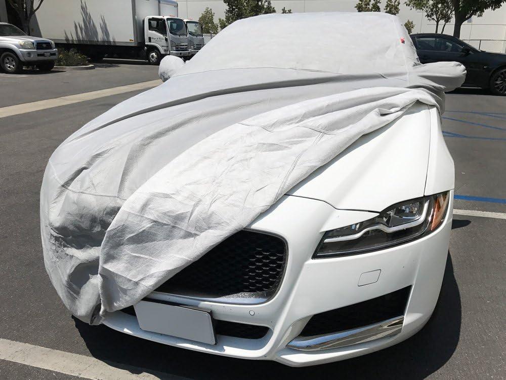 CarsCover Custom Fit 2009-2019 Jaguar XF Car Cover Heavy Duty Weatherproof Ultrashield Covers