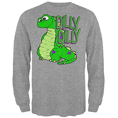 Amazon.com  Old Glory Dilly Dilly Dino Mens Long Sleeve T Shirt ... b067c7762