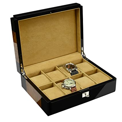 Caja para relojes Official Geneva Official Geneva PHANTOM para 8 relojes