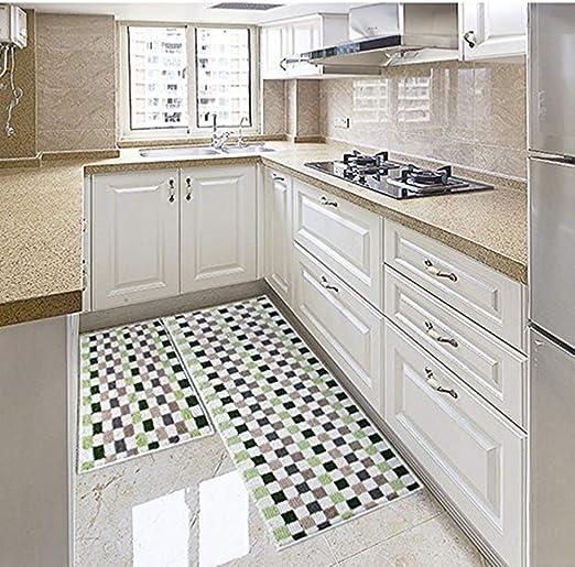 Amazon Com Eanpet Kitchen Rugs Sets 2 Piece Kitchen Floor Mats