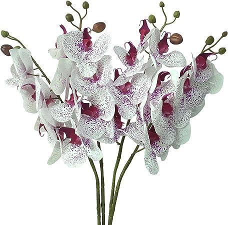Orchidee ARTIFICIALI PHALAENOPSIS 3 rami 38 cm BIANCO ARTE orchidee Arte Fiore