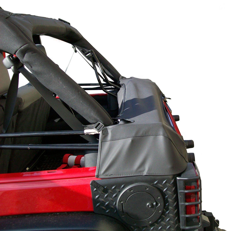 2-Door Outland 391210450 Black Diamond Soft Top Storage Boot for Jeep JK Wrangler
