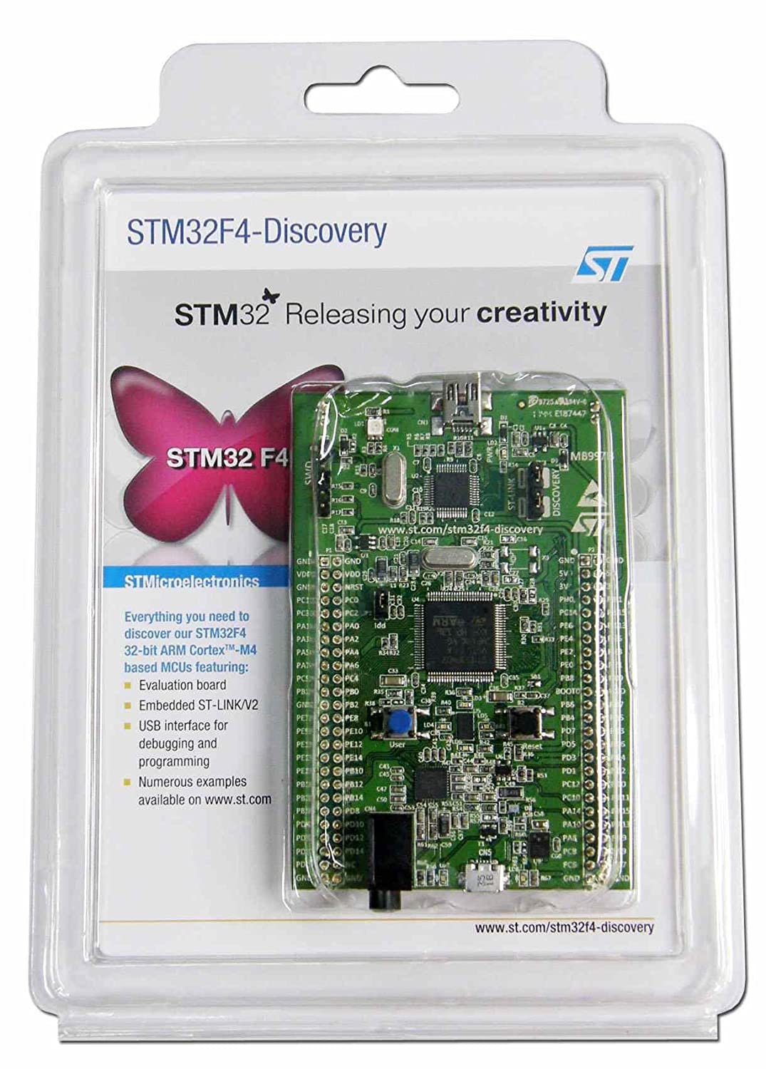 Amazon in: Buy STM32F4DISCOVERY ST STM32 STM32F4 STM32F407