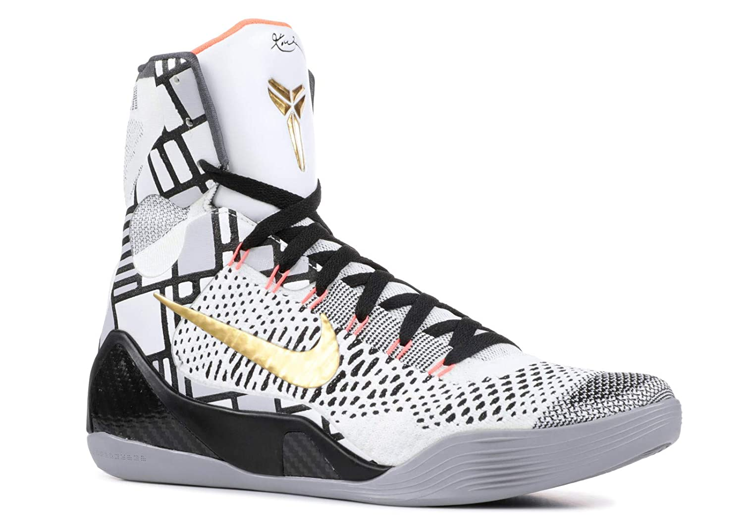 on sale 257a2 4009b Amazon.com   NIKE Kobe 9 Elite Gold Collection (630847-100)   Shoes