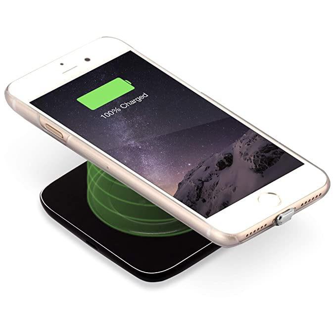 ytech Auto - Cargador inalámbrico para iPhone - Auto ...