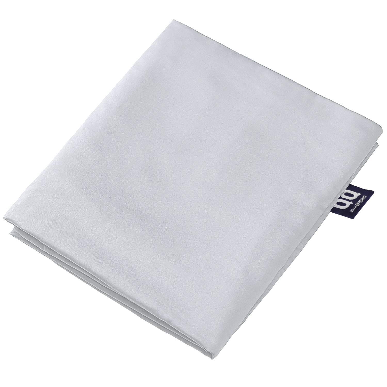 QQ Bedding 重みのあるブランケットカバー – プレミアム&ソフトトルコ綿布団カバー 不安のブランケット用 – 洗濯可能、ジッパータイで取り外し可能 60x80 グレー B07NDZ42F9 グレー 60x80