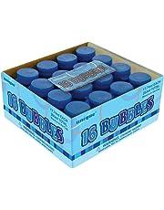 Unique Party 37345 - Glitz Blue Party Bubbles, Pack of 16 Party Bag Fillers