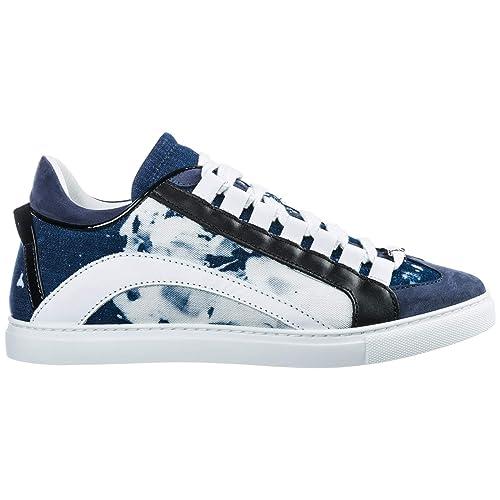 Dsquared2 551 Zapatillas Deportivas Hombre BLU: Amazon.es: Zapatos y complementos