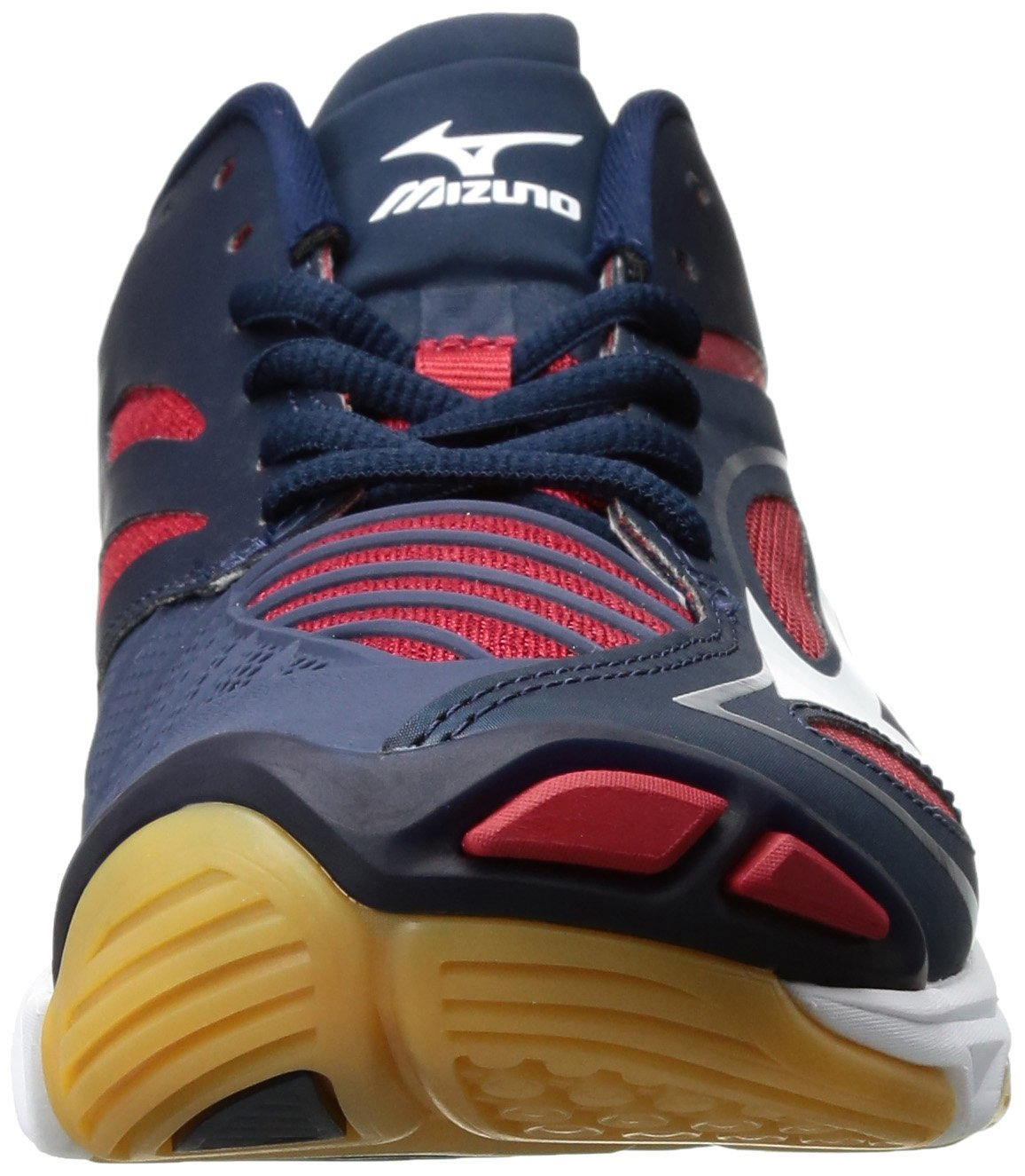 Mizuno Women's Wave B01N8VR0I4 Lightning Z3 Volleyball Shoe B01N8VR0I4 Wave 13 B(M) US Navy/Red e988f4