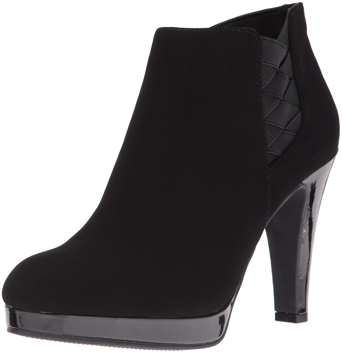 Women's Film Code Platform Heeled Bootie Fashion Boot