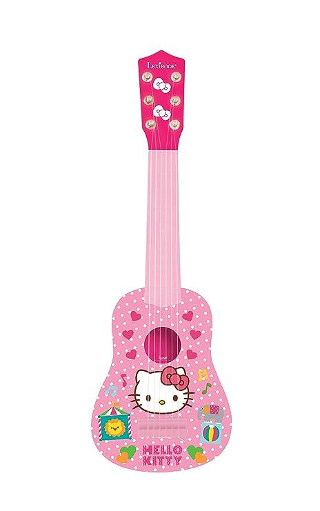 Hello Kitty - Mi primera guitarra, instrumento niña (Lexibook K200HK)