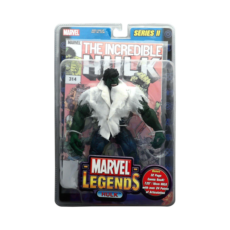 vendiendo bien en todo el mundo Marvel Legends Serie 2 el increíble Hulk con con con camiseta de color blanco figura de acción por Toy Biz  comprar descuentos