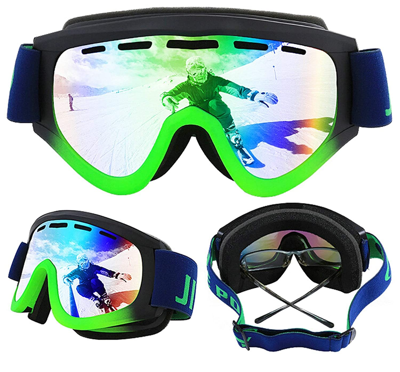 Sportsonnenbrille Jugendliche Damen Herren Skibrille Erwachsene Doppelschicht Anti Fog Männer Und Frauen Myopie Zylindrische Skibrille