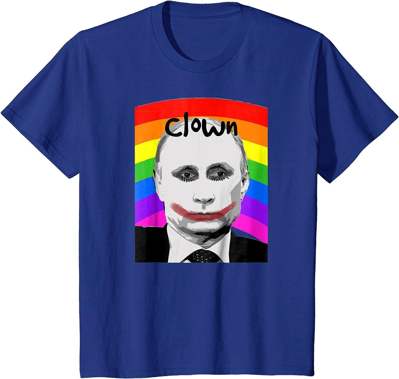 Vladimir Putin Gay Clown Meme Banned In Russia Tee - Camiseta - Unisex adulto: Amazon.es: Ropa y accesorios