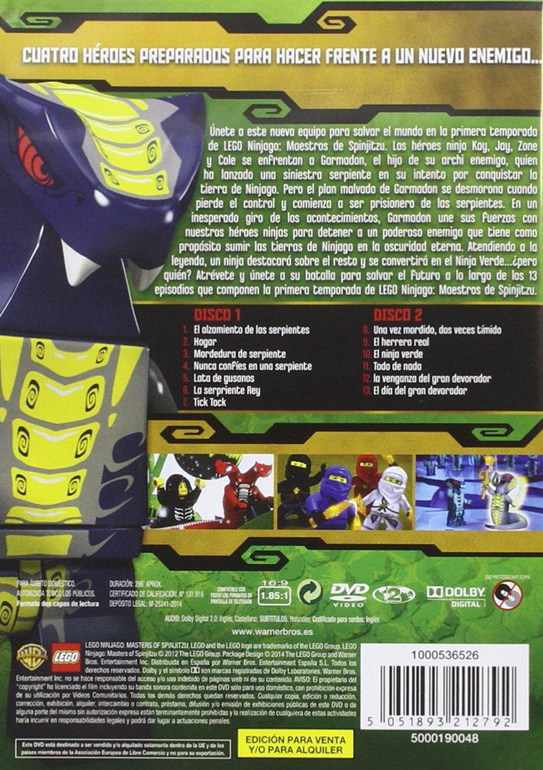 Lego Ninjago Temporada 1 [DVD]: Amazon.es: Cine y Series TV