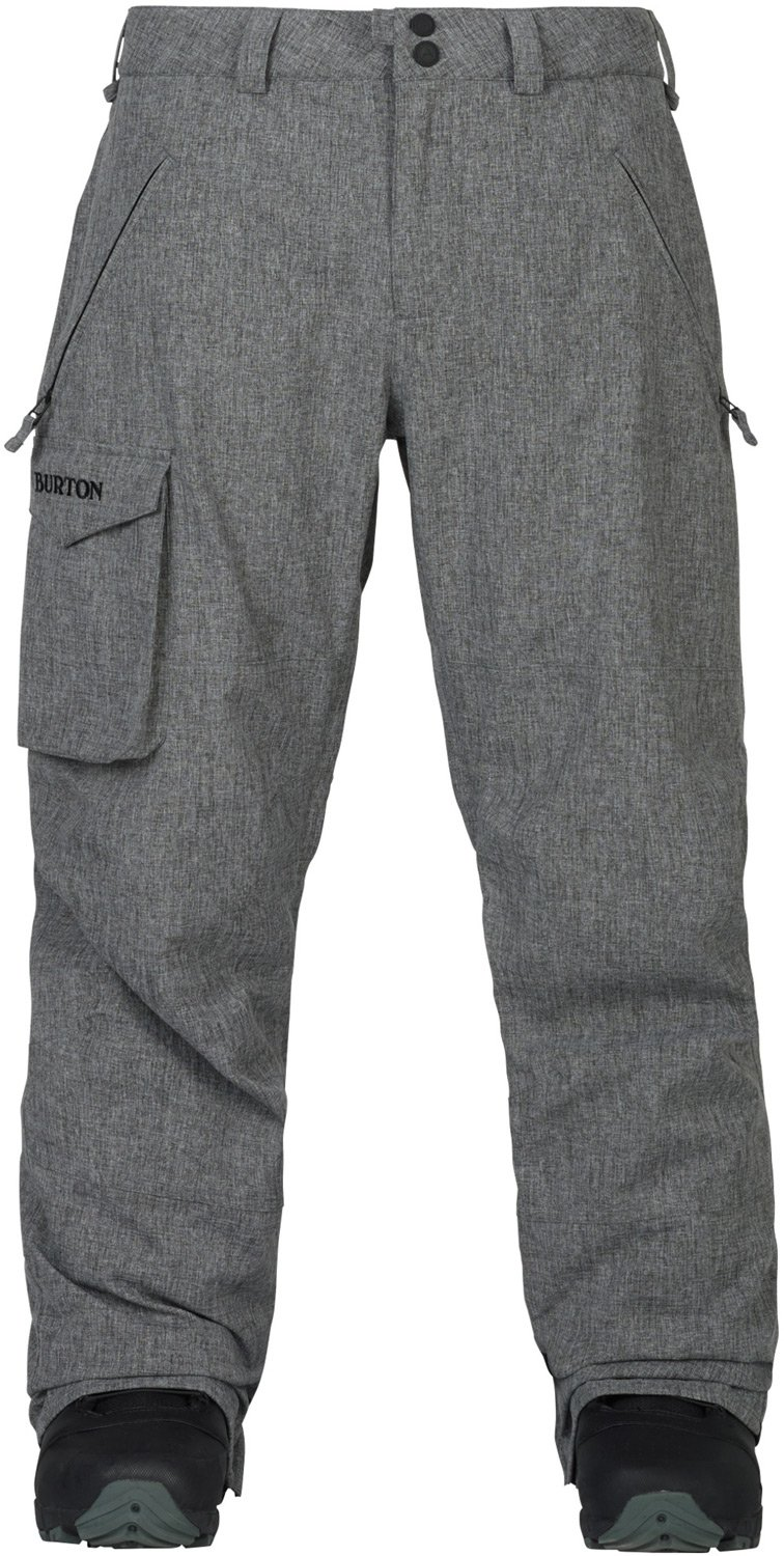Burton Men's Covert Pant Insulated, Bog Heather, Medium