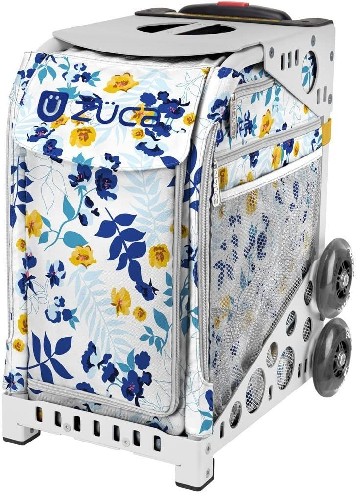 ZUCA Boho Floral (Flowers) Sport Insert Bag and Frame with Built-in Seat (Choose Your Color)